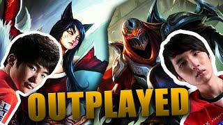 Outplayed #4: Faker vs Easyhoon - Ahri vs Zed - Analyse [GER]