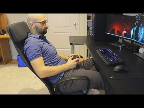Office Gaming Chair - Ikea Markus