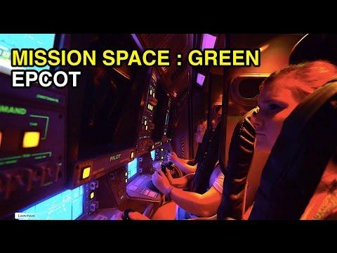 [4K] Mission: SPACE - Green (Milder) Intensity : Epcot (Orlando, FL)