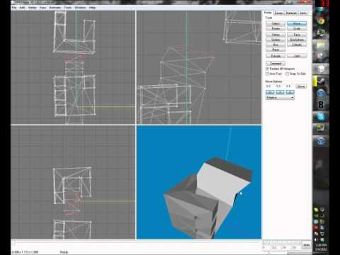 How to make weapons in Milkshape 3D for Blockland - Part 1