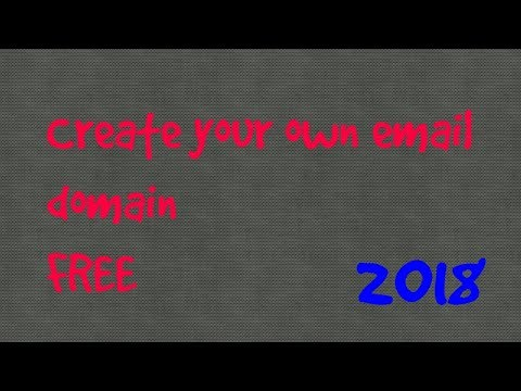 Create your own custom email for FREE