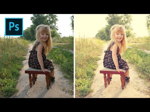 Photoshop Tips - 4 Steps How To Blend Creamy Tones in Photos