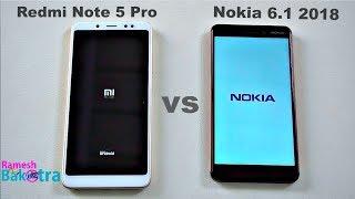 Nokia 6 2018 vs Redmi Note 5 Pro SpeedTest, Camera and Charging Compare