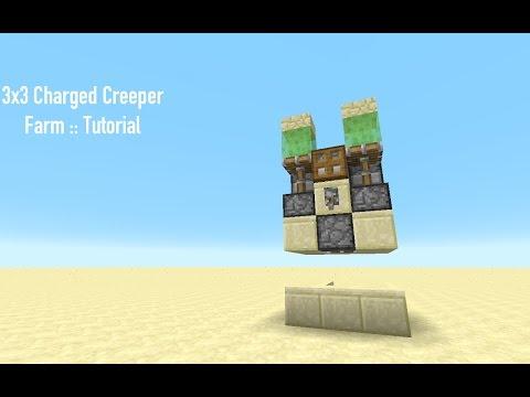 3x3 Charged Creeper Farm :: Tutorial