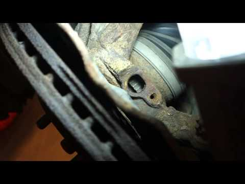 How to clean ABS sensor ring