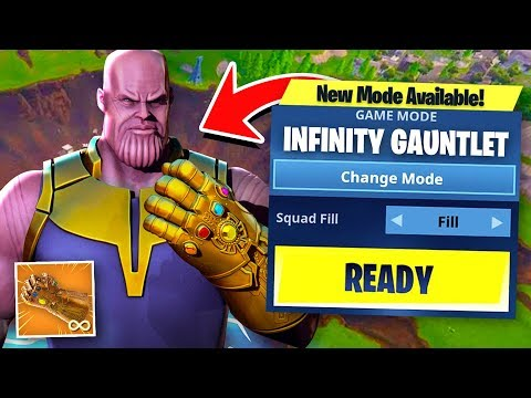 NEW FORTNITE GAMEMODE! - Infinity Gauntlet LTM! (Out Soon!)