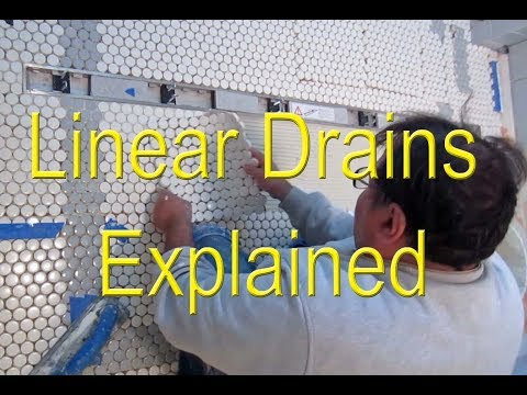🤔 Linear drains explained 👍