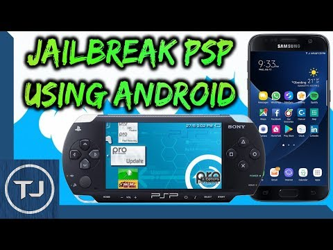 How To Install 6.61 PRO C2-CFW On PSP Using Android Phone!