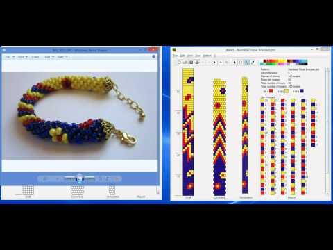 Design Tubular Bead Crochet Jewelry Patterns With JBead Software