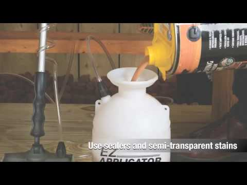 Hudson® EZ APPLICATOR™ Deck and Fence Sprayer System Video Overview HD