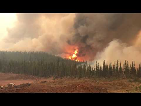 BC Wildfires 2017 Cariboo