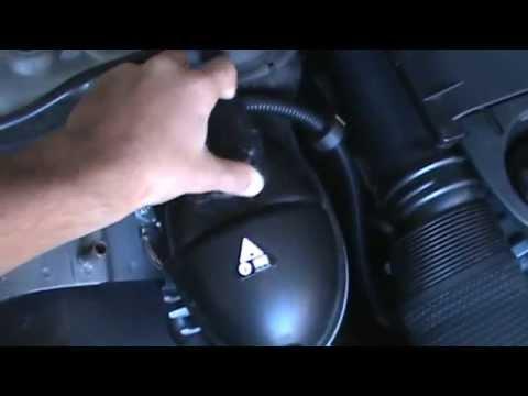 Mercedes C-Class Coolant Check
