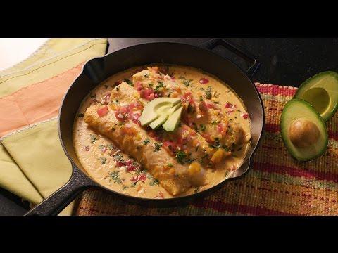 Chicken Barbacoa Enchiladas