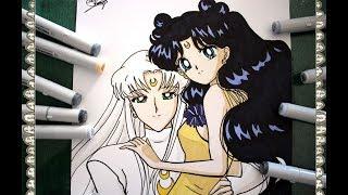Como Dibujar Sailor Moon Crystal Opening 90 Style How To