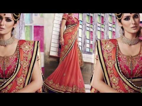 Women's Party Wear Sarees: Fancy Designer Sarees & Stylish Half Sarees Designs | DESIGNERS AND YOU