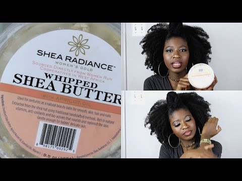USING SHEA BUTTER FOR SKIN/HAIR + MY ACNE STORY- FT SHEA RADIANCE