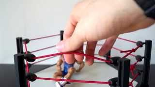 TNA Impact Wrestling 6 Sided Ring Unboxing, Construction & Review!