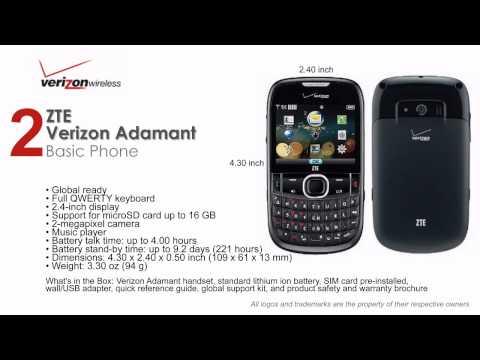 Best Verizon Basic Phones (Without Data Plan)
