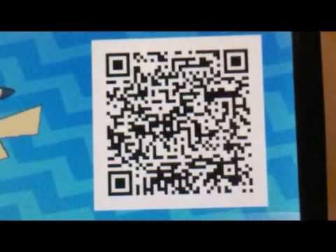 Ash Pikachu QR scan