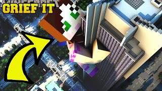 Minecraft: CAN YOU GRIEF IT?!? - DESTROY DA HOUSE - Custom Map