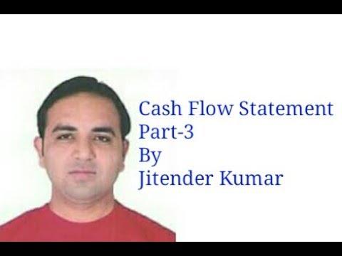 Cash Flow Statement- Operating Activities- By Jitender Kumar