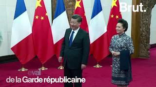 Pourquoi Emmanuel Macron a offert un cheval à la Chine