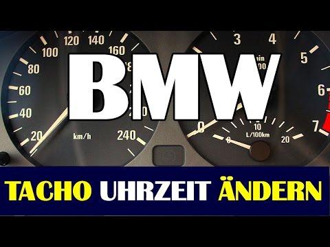 BMW UHR einstellen E46 ✔TACHO UHRZEIT einstellen✔  setting the Clock on E46  