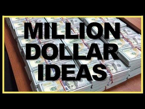 HOW TO Identify Million Dollar Business Ideas