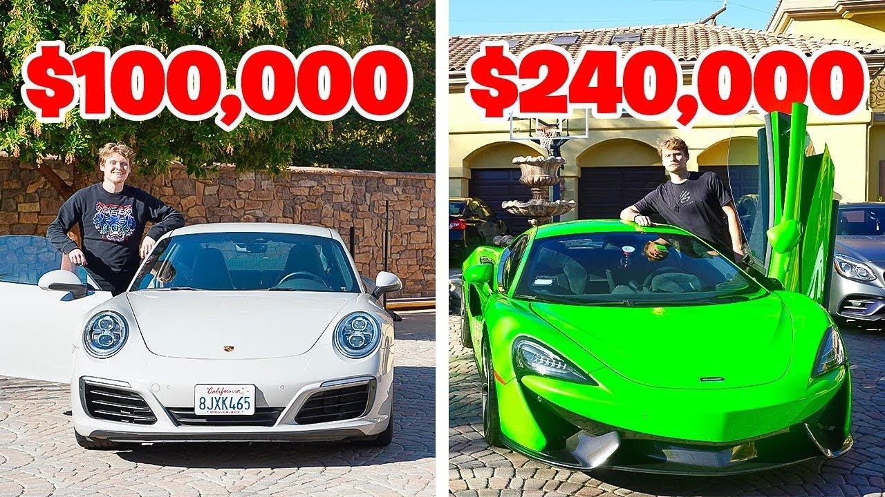 $100K vs. $200K Sports Cars!