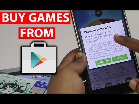 How to Buy Apps/Games on Google Play Store?