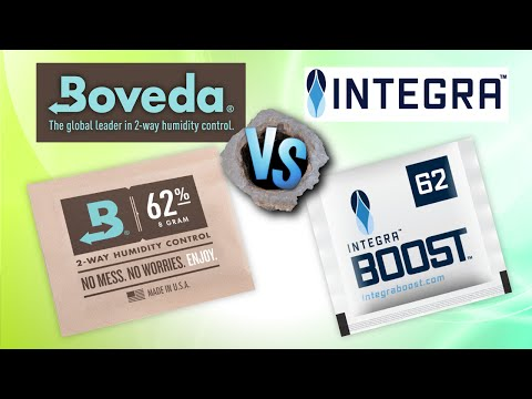 Humidity Control Pack Comparison Test Boveda VS Integra Boost Review