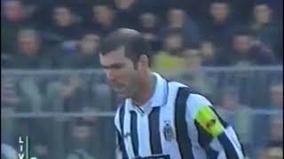 Zidane vs Lecce (2000-01 Serie A 11R)