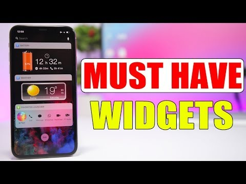 Amazing iPhone Widgets That You MUST HAVE * 2018 *