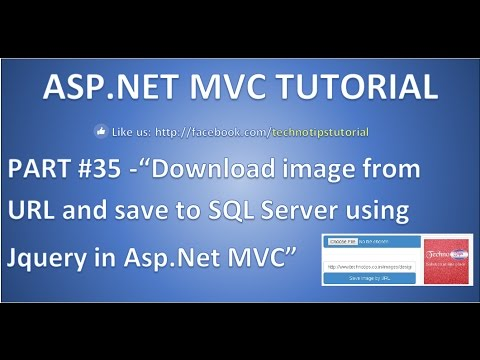 Part 35 - How to upload image by copying image link(URL) from google using JQuery in Asp.net  MVC