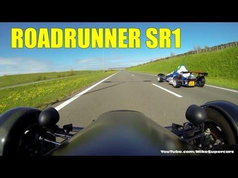 2x Roadrunner SR1 - streetlegal single-seater, 0-62 mph in 3.2s