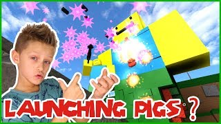 Launching PIGS at GIANT NOOB!