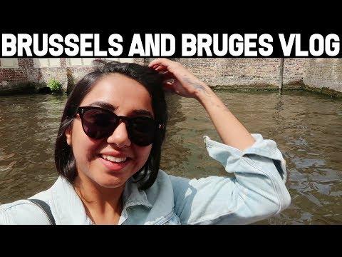 Brussels & Brugge Vlog | MostlySane
