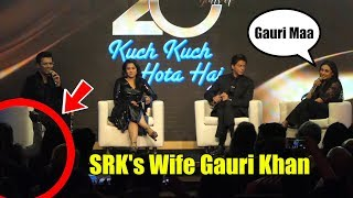 When Rani Mukerji Call Shahrukh