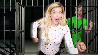 Escaping ABANDONED Prison in TOP SECRET Location! (Hidden Mystery Box Found)
