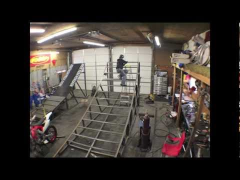 Keith Sayers FMX Ramp Build Step 2