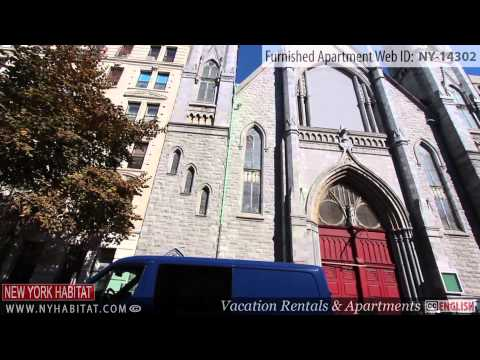 Video Tour of a 2-bedroom Furnished Apartment in Harlem, Manhattan, New York