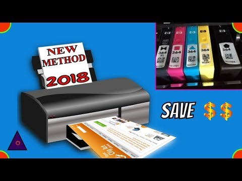 New Method to Print with Empty Ink Cartridges 2018