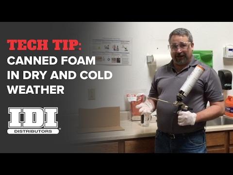 Single Component Gun Polyurethane Foam Insulation Tips