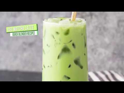 DIY Iced Matcha Latte