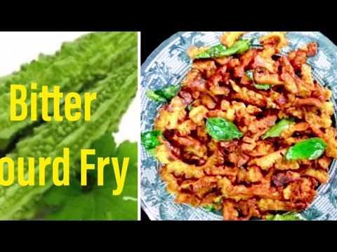Kaipekka Fry | Karela Fry | Bitter Gourd Fry | pavakkai fry | English Subtitles
