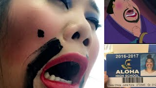 Girl Dresses Like Mulan Character For School Picture | What's Trending Now