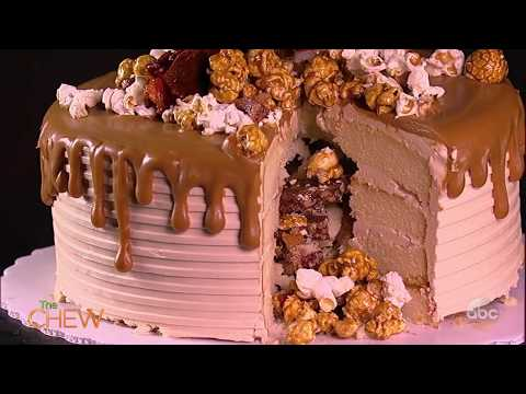 The Cake Boss Buddy Valastro Shows How to Make an Autumn Piñata Cake | The Chew