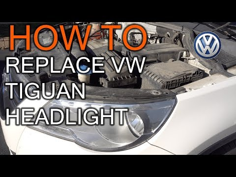 How to Replace VW Tiguan Front Light