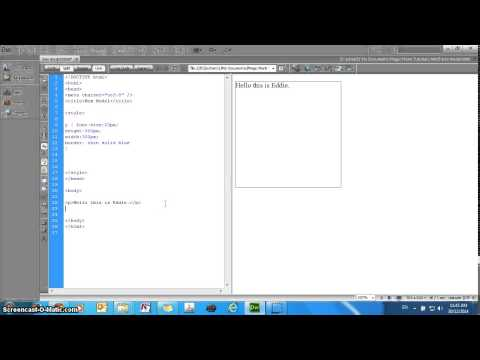 HTML5 CSS3 tutorial - Box model - Setting the height, width, and borders
