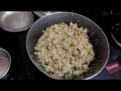 How to make Varagu Semiya Uppuma in Tamil